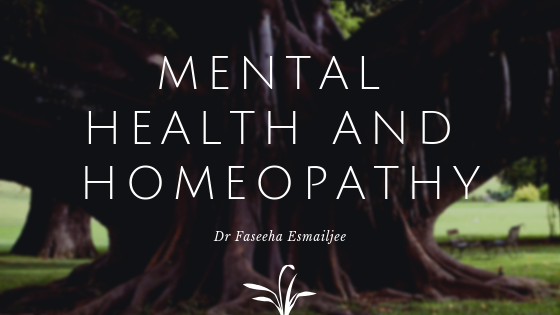 Mental Health and Homeopathy